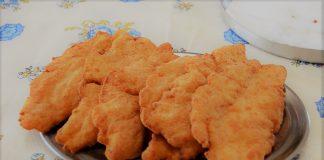 Filé de frango empanado