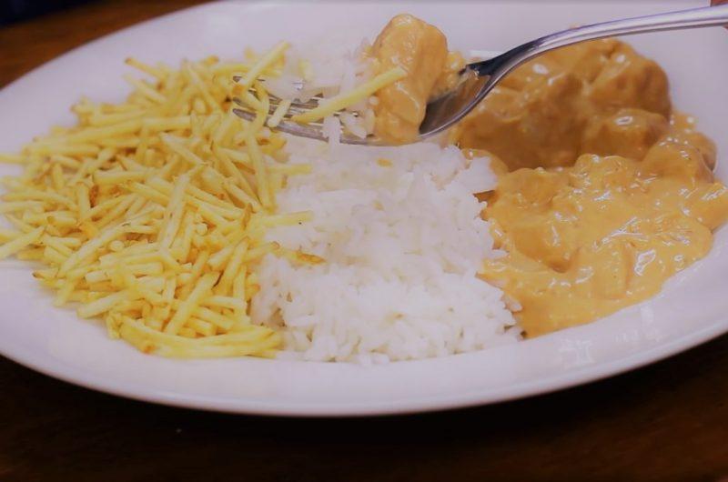 Receita de strogonoff de frango simples e fácil