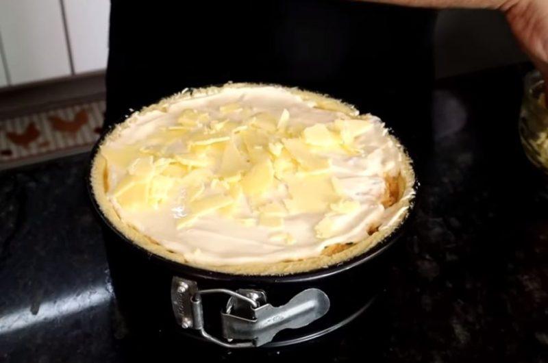 Fazendo a torta
