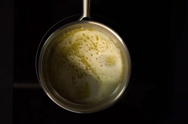 manteiga derretida