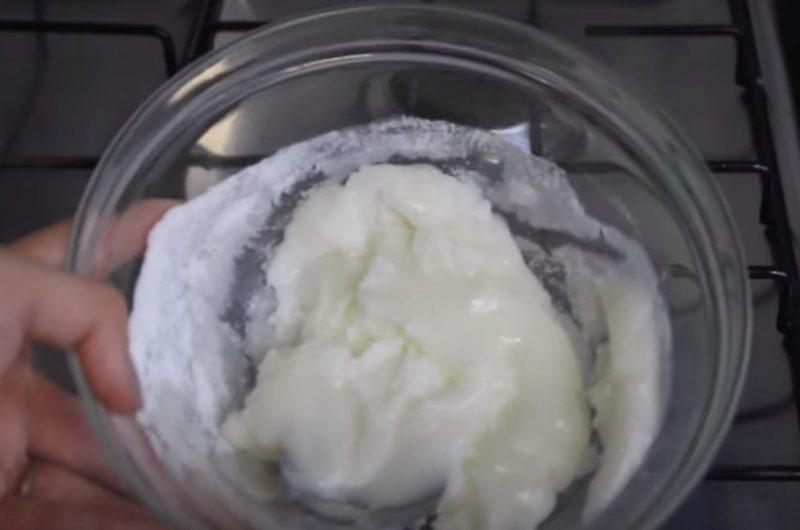Pasta camafeu de nozes
