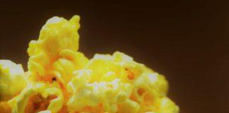 Pipoca na manteiga de cinema