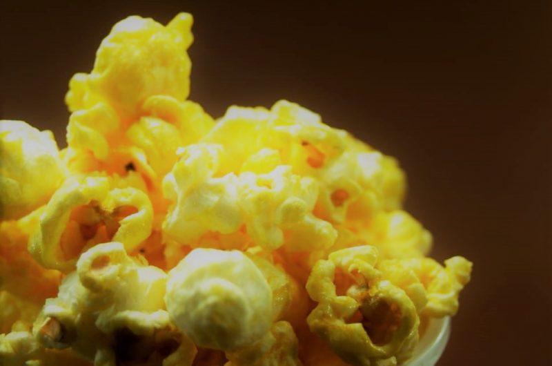 Receita de Pipoca com Manteiga
