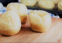 Pão de queijo de liquidificador