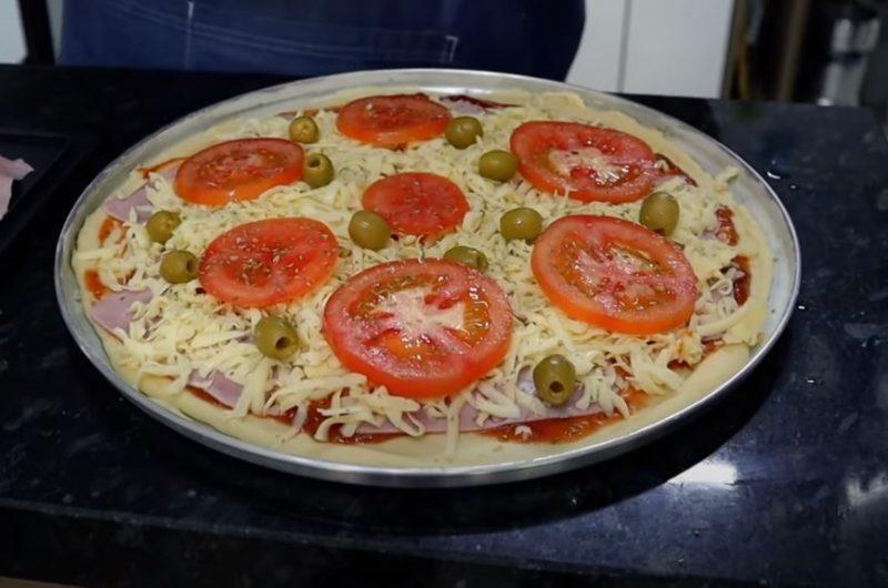 pizza recheada