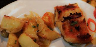 bacalhau de forno com batatas
