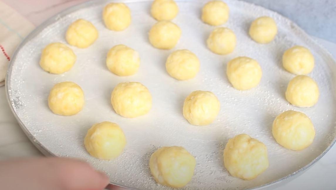 Bolinhas de pão de queijo