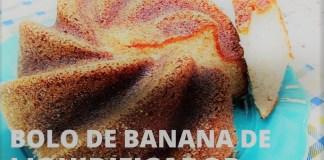 bolo de banana de liquidificador