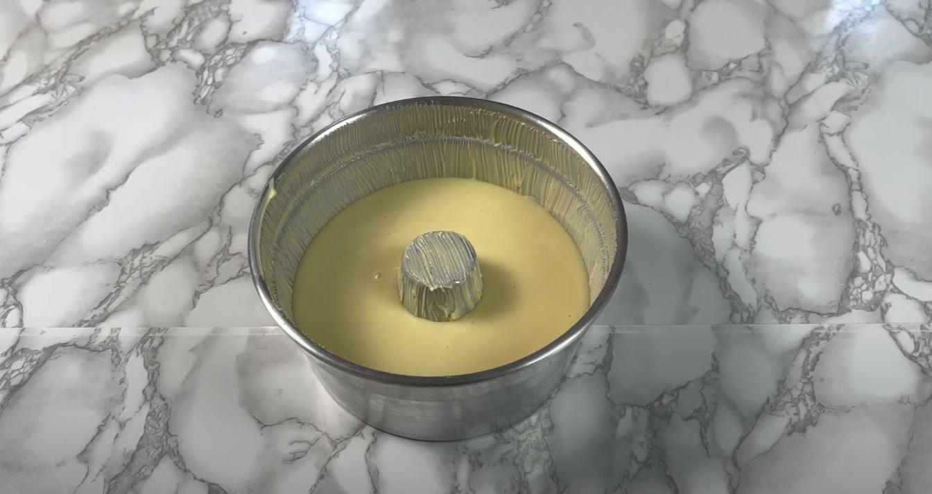 forma com leite condensado